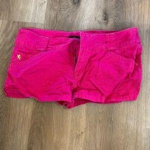 Pink express shorts